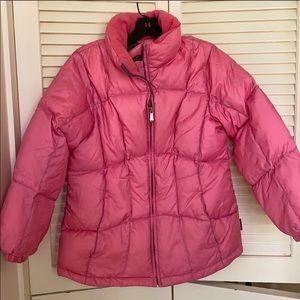 Pacific Trail Dark Pink Puffer Jacket Sz L
